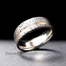 rustic mens wedding bands men s rustic ring collection buffalo craft company llc