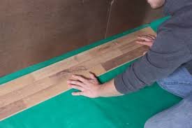 Laminate Flooring Uneven Subfloor How To Install Visqueen Vapor Barrier Pe Film An Illustrated