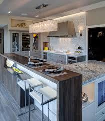 Modern Kitchen With Island Kitchen Ideas Long Kitchen Island Kitchen Island Designs Blue