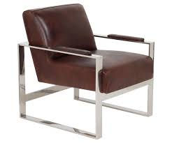 Leather Mid Century Chair Mid Century Modern Leather Metal Accent Chair Safavieh Com