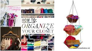 How To Organise Your Closet 20 Diy Closet Solutions To Keep You Organized This Spring