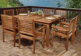 Patio Set Wood Exterior Classic Smith And Hawken Patio Furniture With Classic