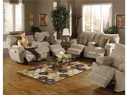 Fabric Recliner Sofa by Mesmerizing Reclining Living Room Sets For Home U2013 Reclining