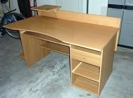 bureau industriel metal bois bureau bois metal bureau metal bois recyclage objet rcupe objet
