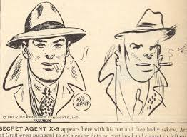 in 1947 ten comic strip artists were asked to draw their