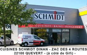 cuisiniste dinan schmidt quévert magasin de cuisines salles de bains et rangements
