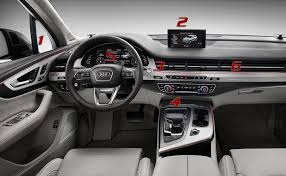 audi germany our observations of the all new q7 interior audiworld forums