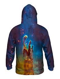 galaxy sweater yizzam space galaxy pillars of creation mens hoodie sweater