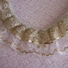 lace ribbon by the yard best gathered lace trim products on wanelo