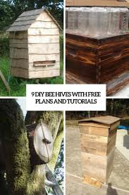 Top Bar Beehive Plans Free 9 Diy Bee Hives With Free Plans And Tutorials Shelterness