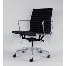 Midcentury Desk Chair Amazon Com Mid Century Inspired Executive Office Chair Black