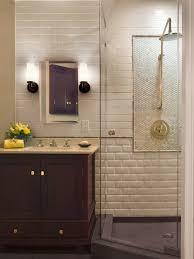 Mirrored Subway Tile Backsplash Bathroom Transitional With by Best 25 Beveled Subway Tile Ideas On Pinterest White Subway