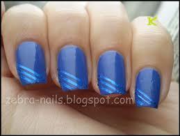 laser blue rolls striping tape line nail art decoration sticker
