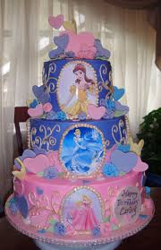 birthday cake ideas incredible photo disney princess birthday