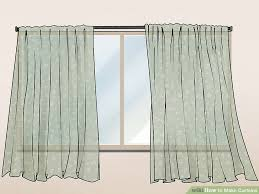 how to make curtains 5 ways to make curtains wikihow