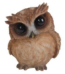 playful curious brown owl ornament by arts ornaments