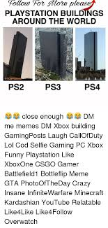 Playstation Meme - please playstation buildings around the world games ps3 ps4 ps2