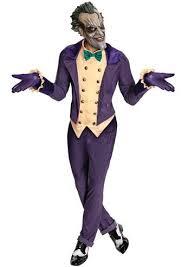 Batman Halloween Costume Mens Batman Arkham Joker Men Costume 49 99 Costume Land