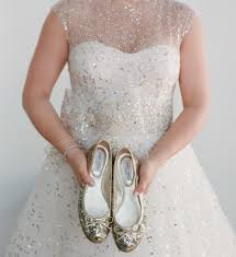 wedding shoes wearing flats or sandals at your wedding inside