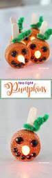 halloween pumpkin lights tea light pumpkins little orange flameless tea lights that stand