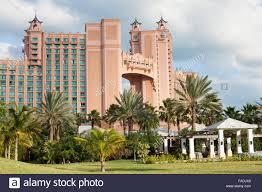 atlantis hotel nassau bahamas stock photo royalty free image