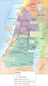 Judea Map Media Map Jesus Time Jpeg
