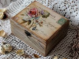 Decoupage Box Ideas - pin by on decoupage