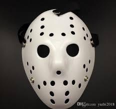 scary mask white porous men mask jason voorhees freddy horror