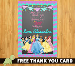 little mermaid invitation disney princess ariel invite the