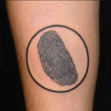 friend thumbprint tattoo heart pictures to pin on pinterest