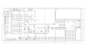 restaurant design cad layout plan cadblocksfree cad blocks free