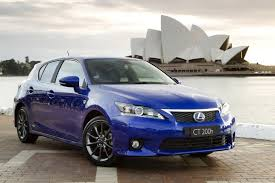 lexus ct200h year to year changes lexus adds optional f sport package to 2012 ct 200h
