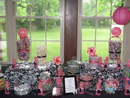 candy bar using teal u0026 purple accents with damask and a