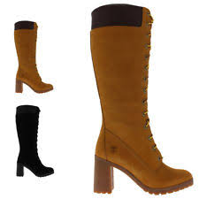 womens timberland boots uk size 3 timberland s lace up block knee high boots ebay