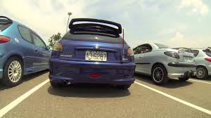 peugeot near me peugeot 206 club 2013 summer meeting youtube