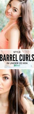 barrel curl hair pieces the 25 best big barrel curls ideas on pinterest retro waves