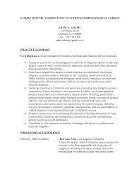 chronological resume or functional resume professional resumes
