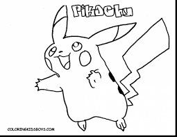 magnificent pokemon pikachu coloring pages with pikachu coloring