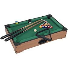 amazon com mini pool table set for kids portable indoor and