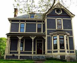 red victorian exterior house colors elegant victorian exterior
