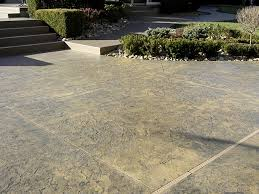 Colored Concrete Patio Pictures Stamped Concrete River Stone Embossing Skin Pattern