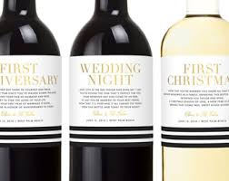 wine wedding gift wedding gift wine labels engagement gifts for