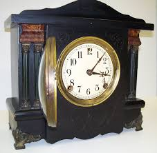 Bulova Valeria Mantel Clock Fireplace Mantel Clocks Mantel Clock Distressed Vintage Chic