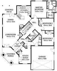 corner lot floor plans well suited for a corner lot house plan hunters