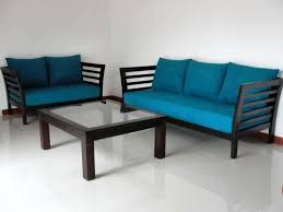 Modern Blue Sofa Cheerful Modern Sofa Sets The The