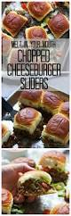 melt in your mouth chopped cheeseburger sliders recipe