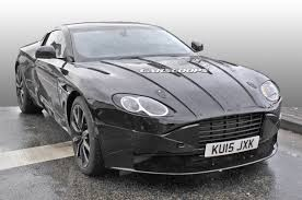 used aston martin ad aston martin rolls out first db11 prototype