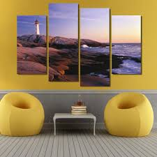 wholesale home decor suppliers china online buy wholesale lighthouse oil painting canvas from china