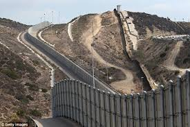 donald trump says height of his border wall will be 35 45 feet