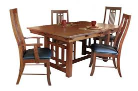 Arts And Crafts Dining Room Set Greene Prairie Woodworks Dining Amish Dining Tables